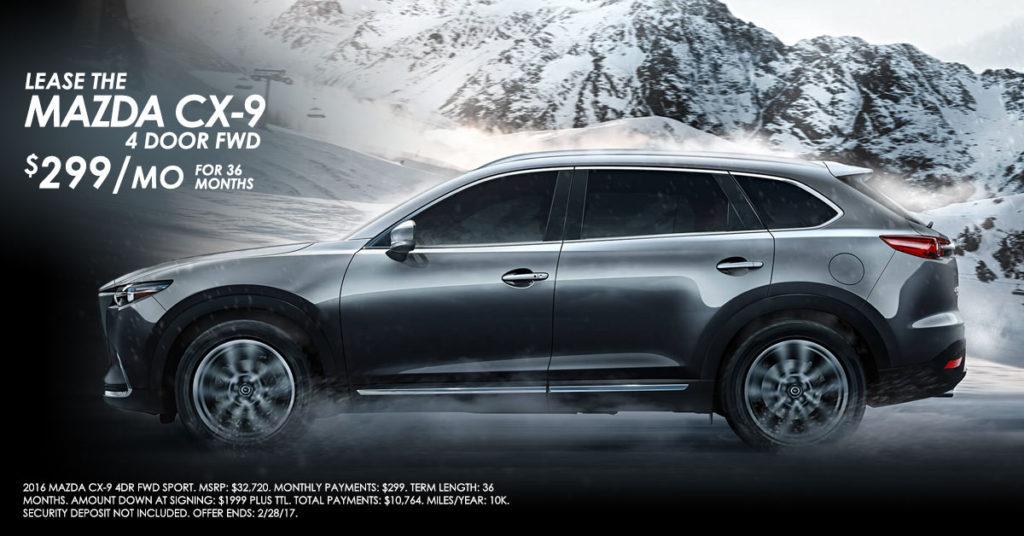 Ricochet Media Group Mazda Banner Ad