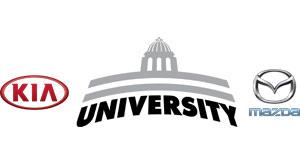 University Kia Mazda Logo